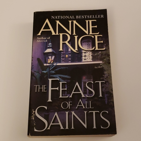 📚 5 for $20 Anne Rice, The Feast of all Saints